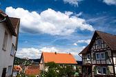 Village close to Marburg in summer — Zdjęcie stockowe
