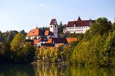 Kloster st. mang w füssen — Zdjęcie stockowe