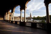 Plaza Espana in Sevilla — Stock Photo