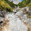 Stones and rocks in Alps - Photo
