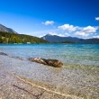 Stock Photo: Beautiful alpine lake Walchensee