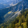 Rocks in Bavarian Alps — Stock Photo