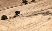 Abstrakta landskap i andalusien — Stockfoto