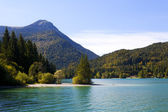 Walchensee in Bavarian Alps, Germany — Stock Photo