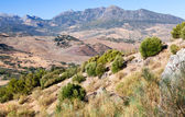 Mountains in charming Andalucia — Stock Photo
