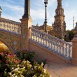 Stock Photo: Sunny Plazde Espanin Seville
