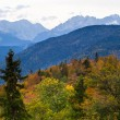 Mountains in autumn — Stock Photo