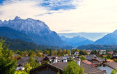 Wallgau in Bavarian Alps — Stock Photo