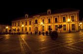 ESPAÑA Plaza Virgen de los Reyes, Sevilla — Stock Photo