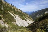 Charming mountain range in Bavaria — Stock Photo