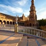 Tower at Plaza de Espana, Sevilla — Stock Photo #18408101