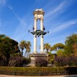 Columbus monument in Sevilla - Stock Photo
