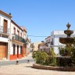 Old Spanish town Niebl(Huelva) — Stock Photo #18408307