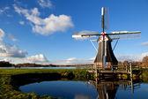 魅力的なオランダの風車 — ストック写真