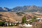 Pequeño pueblo español — Foto de Stock