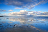 Cloudscape over North sea — Stock Photo