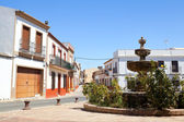 Old Spanish town Niebla (Huelva) — Stock Photo