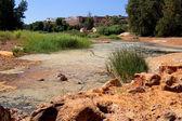 River Tinto in Niebla (Huelva) — Stock Photo