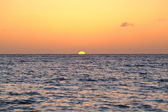 Calm sunset over North sea — Stock Photo