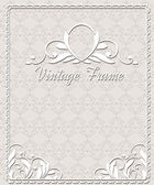 Vintage frame and seamless pattern. — Stock Vector