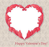 Vintage background valentine's day — Stock Vector
