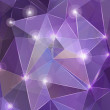 Purple abstract background with effects — Stock Vector #24602413