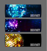 Background disco party — Stock Vector