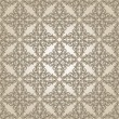 Brown vintage seamless pattern — Stock Vector