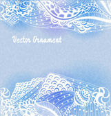 Ornaments hand-drawn — Vector de stock