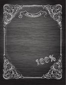 Decorative retro banner — Stock Vector