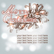 Hand-drawn Christmas banner — Stock Vector #37234297