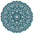 Ornamental round lace pattern — Wektor stockowy