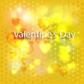 Abstract background with hearts — Stock Vector