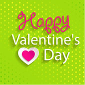 Happy Valentine's Day Design — Stock Vector