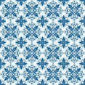 Seamless ornamental oriental pattern — Stock Vector