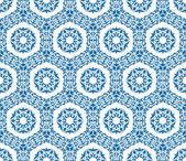 Sömlös prydnads orientaliska mönster — Stockvektor
