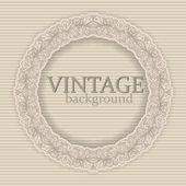 Marco de frontera vintage vector — Vector de stock