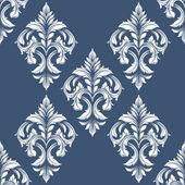 Vintage victorian seamless pattern — Stock Vector