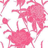 Vintage květinový vzor bezešvé — Stockvektor