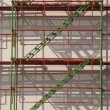 Scaffolding construction — Stock Photo