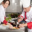 Two chefs - Stock Photo