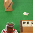 Stock Photo: Rummy table