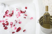 A relaxing bath — Stock Photo