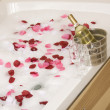 A relaxing bath — Stockfoto