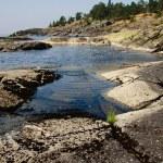 花崗岩の海岸 — ストック写真