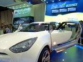 Hyundai Blue Drive — Stock Photo