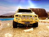 FJ Cruiser Desert Raider — Stock Photo