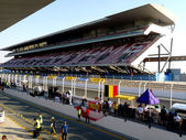 Dubai Autodrome Grand Stand — Stock Photo