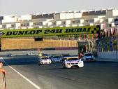 Racing Long Straight — Stock Photo