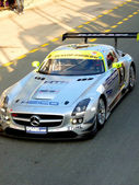 Heico Motorsport GT3 Car during Dunlop 24H Dubai Race — Stok fotoğraf